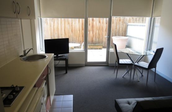 This Spacious and Well Appointed FURNISHED 1BR plus Study Courtyard Apartment is the High-t of Living!
